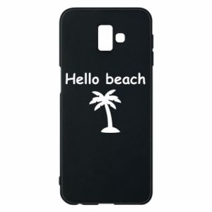 Etui na Samsung J6 Plus 2018 Hello beach