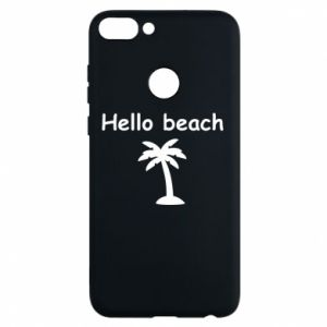 Etui na Huawei P Smart Hello beach