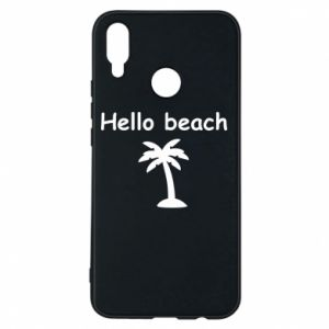 Etui na Huawei P Smart Plus Hello beach