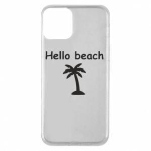 Etui na iPhone 11 Hello beach