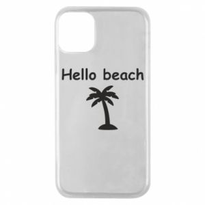 Etui na iPhone 11 Pro Hello beach