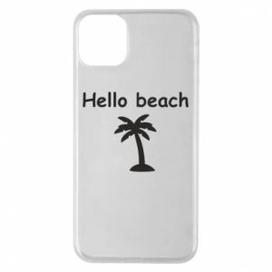 Etui na iPhone 11 Pro Max Hello beach