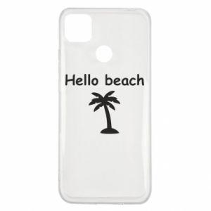Etui na Xiaomi Redmi 9c Hello beach