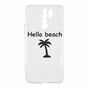 Etui na Xiaomi Redmi 9 Hello beach