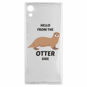 Etui na Sony Xperia XA1 Hello from the otter side