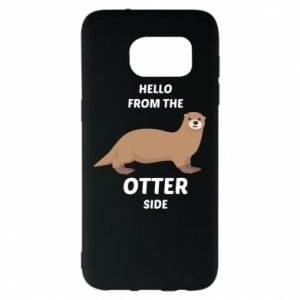 Etui na Samsung S7 EDGE Hello from the otter side
