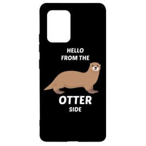 Etui na Samsung S10 Lite Hello from the otter side
