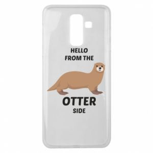 Etui na Samsung J8 2018 Hello from the otter side