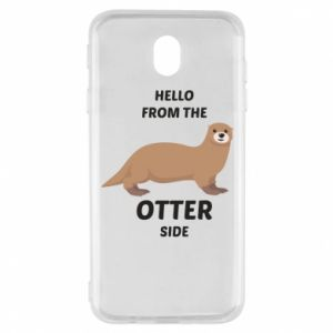 Etui na Samsung J7 2017 Hello from the otter side