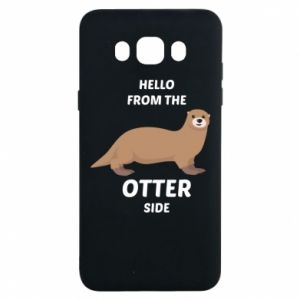 Etui na Samsung J7 2016 Hello from the otter side