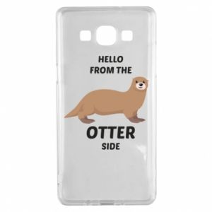 Etui na Samsung A5 2015 Hello from the otter side
