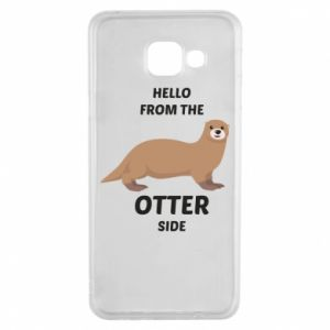 Etui na Samsung A3 2016 Hello from the otter side