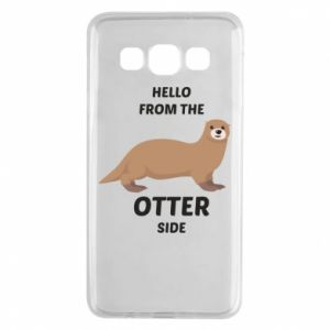 Etui na Samsung A3 2015 Hello from the otter side