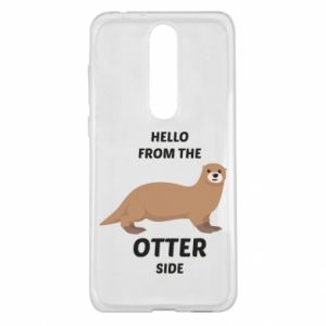 Etui na Nokia 5.1 Plus Hello from the otter side