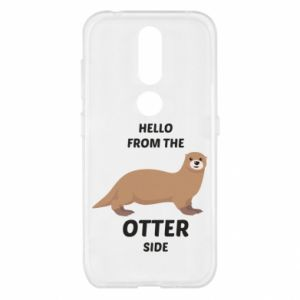 Etui na Nokia 4.2 Hello from the otter side
