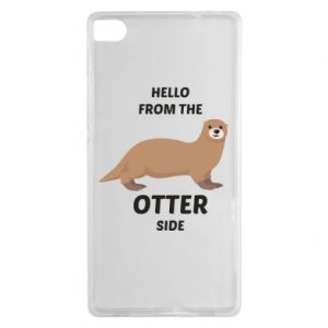 Etui na Huawei P8 Hello from the otter side