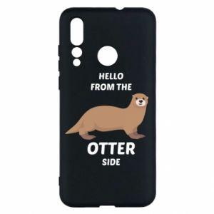 Etui na Huawei Nova 4 Hello from the otter side
