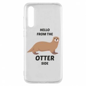 Etui na Huawei P20 Pro Hello from the otter side