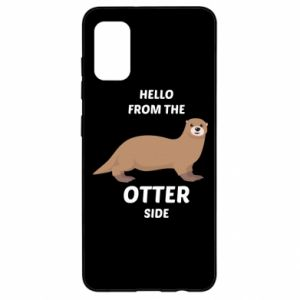 Etui na Samsung A41 Hello from the otter side