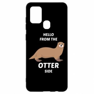 Etui na Samsung A21s Hello from the otter side
