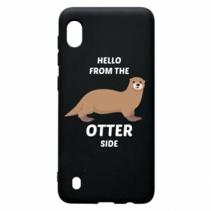 Etui na Samsung A10 Hello from the otter side