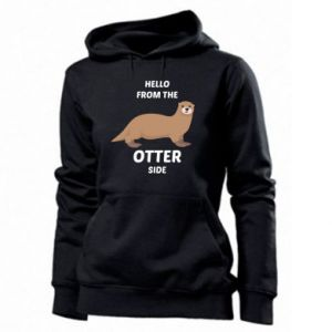 Women's hoodies Hello from the otter side
