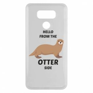 Etui na LG G6 Hello from the otter side