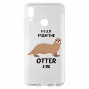 Etui na Huawei P Smart 2019 Hello from the otter side