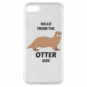 Etui na iPhone SE 2020 Hello from the otter side