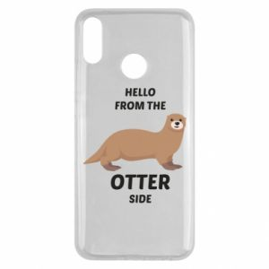 Etui na Huawei Y9 2019 Hello from the otter side