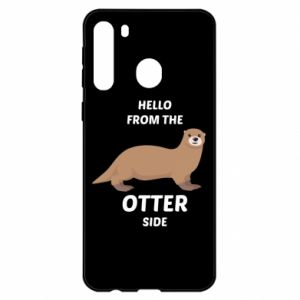 Etui na Samsung A21 Hello from the otter side