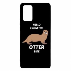 Etui na Samsung Note 20 Hello from the otter side
