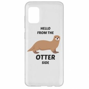 Etui na Samsung A31 Hello from the otter side