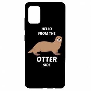 Etui na Samsung A51 Hello from the otter side