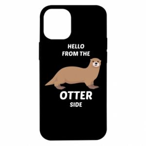 Etui na iPhone 12 Mini Hello from the otter side