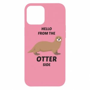 Etui na iPhone 12 Pro Max Hello from the otter side