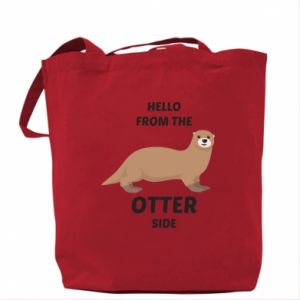 Bag Hello from the otter side
