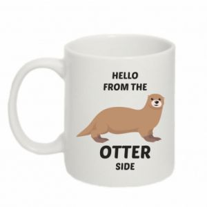Kubek 330ml Hello from the otter side
