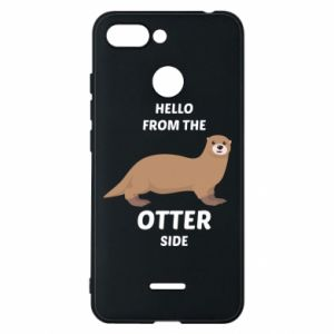 Phone case for Xiaomi Redmi 6 Hello from the otter side