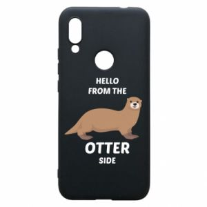 Phone case for Xiaomi Redmi 7 Hello from the otter side
