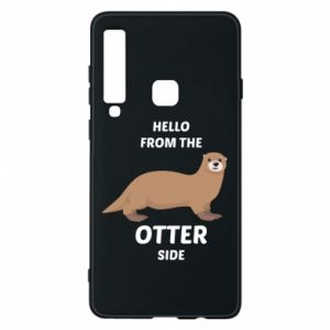 Phone case for Samsung A9 2018 Hello from the otter side