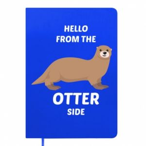 Notepad Hello from the otter side