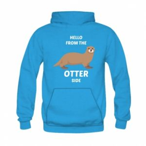 Bluza z kapturem dziecięca Hello from the otter side