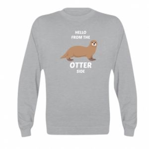 Bluza dziecięca Hello from the otter side