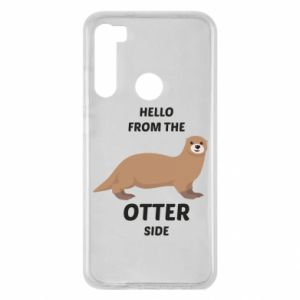 Etui na Xiaomi Redmi Note 8 Hello from the otter side