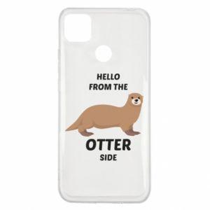 Etui na Xiaomi Redmi 9c Hello from the otter side