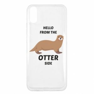 Etui na Xiaomi Redmi 9a Hello from the otter side