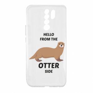 Etui na Xiaomi Redmi 9 Hello from the otter side