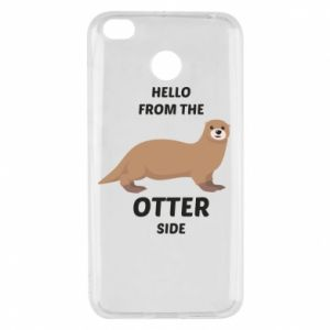 Etui na Xiaomi Redmi 4X Hello from the otter side