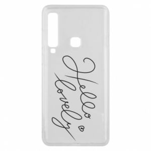 Phone case for Samsung A9 2018 Hello lovely